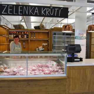Prodejna Farma Zelenka - Brno - Zelný trh - přechodně uzavřena